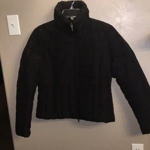 Black Kenneth Cole Down jacket with high neck